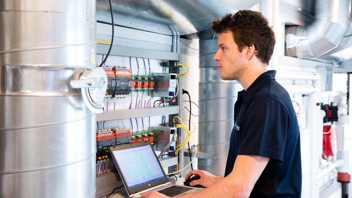 vvs-energispecialist arbejder
