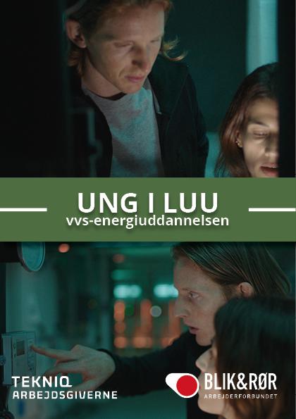 forside af pjecen: Ung i LUU
